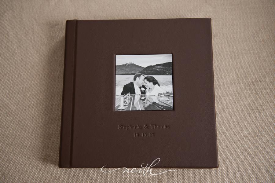 wedding album parents album north photography